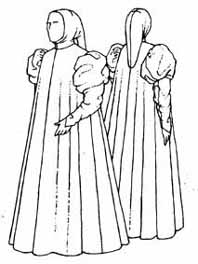 drawing of a similar robe