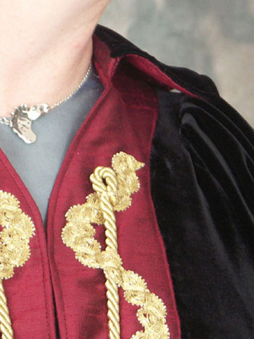 Detail of the appliqué