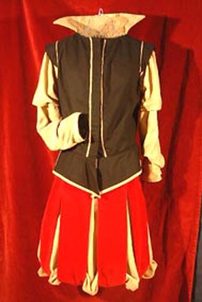 pluder-skirt and doublet