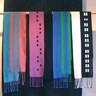 shawls with double layers